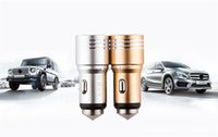 High Qualit para Iphone6 ​​carregador de carro USB colorido Bullet mini carga carro carregador portátil adaptador universal para Iphone 5 5S