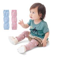 детские коленные подушки безопасности оптовых-Детские наколенники ползать мультфильм безопасности летом младенческой комаров детские мягкие ползать безопасности лучшая защита ползать гетры