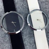 Wholesale Vintage Wrist Bands - Mance 1PC New Fashion Design Brand Lovers Women Men Unisex Leather Band vintage Quartz Analog Wrist Watch relojes Gift 2016 Hot