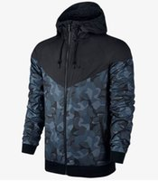 Wholesale Camouflage coat male New Man Spring Autumn Hoodie Jacket men Sportswear Clothes Windbreaker Coats sweatshirt tracksuit