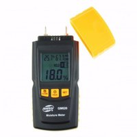 GM620 ± 1% Digital Wholesale-Digital CPU technology Wood Moisture Meter Built in thermometer with testing probe measuring range 2~70% GM620