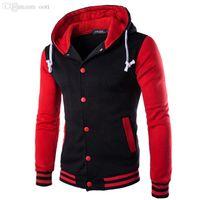 Wholesale China Sweatshirts - Wholesale-8 Colors 2015 Winter Fashion Hoodies Men Casual Hoodies Sweatshirts Men's Outerwear Hoodie Coat Male Cheap Clothes China #