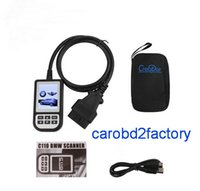Wholesale Bmw E39 Diagnostic - Wholesales----10pcs lots New OBD2 Diagnostic Scanner C110 for BMW e46 e90 e39 ABS SRS Air bag Full Scan tool with DHL free shipping