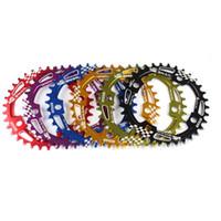 Wholesale Mountain Bike Chain Wheel - Catazer Ultralight 104mm BCD 34T 36T 38T A7075 Alloy Mountain Bike MTB Chain ring Chain wheel Bike Crankset Chain ring