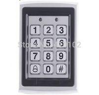 Wholesale Proximity Reader Access Control - Wholesale-Metal RFID Reader 125kHz Proximity Door Access Control Password Keypad 7612