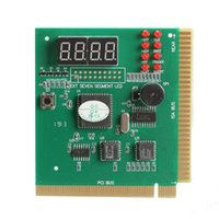 Wholesale Computer Analyzer - 4 Digit LCD Display PC Analyzer Diagnostic Card Motherboard Post Tester Computer Analysis PCI Card Networking Tools High Quality