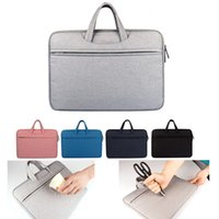 Wholesale Macbook 13 Inch Waterproof - Liner bag Shockproof waterproof notebook Briefcase for Macbook ipad air pro 11.6 13.3 14 15.6 inch laptop bag tablet protective cases DN006