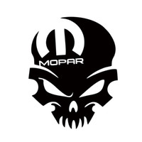 Wholesale Hot Sale For Mopar Skull Vinyl Decal Sticker Graphic Window Car Styling Accessories Graphics Jdm