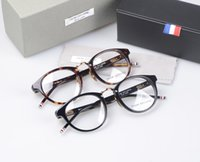Wholesale Prescription Reading Glasses - BRANDY THOM TB-008B reading eyeglasses men and women myopia eye glasses prescription spectacle frames TB008 Oculos De Grau with box