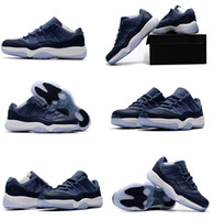 Hight Cut outdoor basket - with box high quality air retro XI Low GS Blue Moon mens Basketball Shoes retro s Sports Sneakers outdoor shoes size