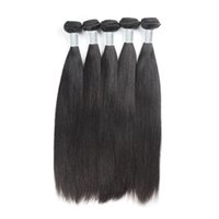 Wholesale Factory Wholesale Products - Brazilian Straight Extension Uglam Hair Product Top Grade 5 Pcs lot Super soft Brazilian Virgin Hair Weaves Free Shipping Factory Price
