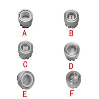 Wholesale Metal Bowl Piece - Longmada 510 rig Nail Replacement Coil Bowl Nail 14mm Water Glass Piece Tube Pipe Bong Dabber