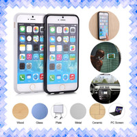 Wholesale Armband For Nano - Anti Gravity Cellphone Protective Case Nano Suction Magic Sucker Technology Stick Cover for iPhone 5 5s 6 6s Plus