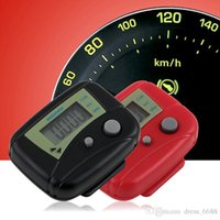 Wholesale Electronic Multifunction Counter - Two key electronic multifunction pedometer double treadmill fitness calorie counter