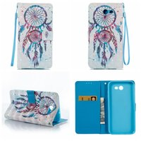 Wholesale Galaxy Pocket Strap - Wallet Leather Lace Wood Flower For Iphone 8 7 6 Galaxy S8 Plus (J7 J5 J3 A5 A3)2017 Love Butterfly Butterfly Card Slot Flip Cover+Strap