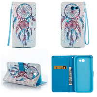 Barato Cartão A3-Wallet Leather Lace Wood Flower Para Iphone 8 7 6 Galaxy S8 / Plus / (J7 / J5 / J3 / A5 / A3) 2017 Love Butterfly Butterfly Slot de cartão Flip Cover + Strap