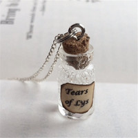 Wholesale games thrones inspired pendants for sale - Group buy 12pcs Tears of Lys Bottle Necklace Pendant inspired by Game of Thrones