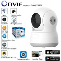Wholesale camera sd ir ip online - HD P IP Camera P2P WiFi Wireless Baby Monitor CCTV Home Security Camera with Night Vision Micro SD Card Slot