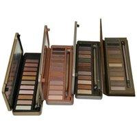 12 color eyeshadow palette venda por atacado-New Hot Maquiagem Sombra de Olho NUDO 12 cor paleta da sombra 15.6g de Alta qualidade NUDE 2.3.5 DHL grátis + presente