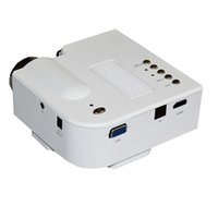 Wholesale Micro Hdmi Iphone - Wholesale-Mini Portable LED Projector Home Theater VGA USB SD HDMI Micro AV Video Multimedia Player support iphone android samsung tablet