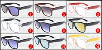 Wholesale uv aa - 10pcs SUMMER MEN sports UV cycling sunglasses protective driving glasses women fashion Outdoor riding glasses 9colors AA free shipping.
