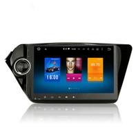 Wholesale Automotive Car Radio - For Kia Rio K2 2011+ Android 6.0 Octa Core Autoradio Car Radio Stereo GPS Navigation Multimedia Media System Sat Nav NO DVD