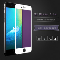 Wholesale Wholesale Glass Store Front - Offline stores facto iphone6 6S 6PLUS Tempered Glass Protective Film Premium screen Protector film Mobile phone 9H 3D Toughened Membrane For