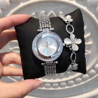 Wholesale Nurse Wristwatches - Gold Silver woman diamond brand watches 2017 brand luxury nurse ladies dresses female wristwatch gifts for girls hot sale