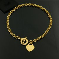 Wholesale Snake Jade Pendant - titanium steel Oval ring OT hole coarse titanium steel rose gold color necklace rose gold necklace pendant for woman fashion jewelry