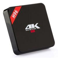 Wholesale Google G - Hot selling android 7.1 TV BOX H96 RK3229 Quad-Core 1GB 8GB 802.11 b g n wifi smart box