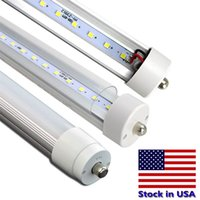 8ft LED 45W 100LM / W High Lumens Tubes de luminaire fluorescents 8feet Gros LED Tube Lampe SMD2835 AC85-265V