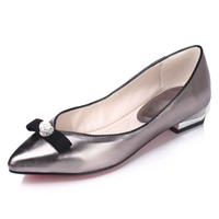 Wholesale Pointed Low Heels - Four seasons in Europe and the United States the new bold and low heels with the classic pointed spires of women's shoes