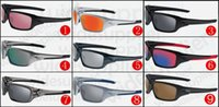 espelhos para bicicletas venda por atacado-RÁPIDO LIVRE esportes óculos Bicicleta Vidro 11 cores grandes óculos de sol esportes ciclismo óculos de sol moda deslumbrar cor espelhos