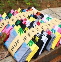 Wholesale Gym Form - Sports Socks Euro And Form En High Quality Cotton Socks Ma Leaf Thread In The High Tube Towel Socks