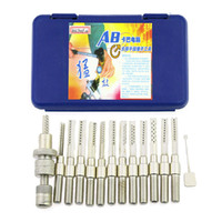 Wholesale Auto Computer Tools - AB Kaba LockPicks Set Computer Picks Tools Locksmith Tools Lock Picking Unlocking Tools