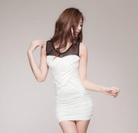 Wholesale Cheapest Night Dresses - Cheapest Sexy Lingerie Seductive Lace Primary Dress Hot Cake Sexy Lingerie White