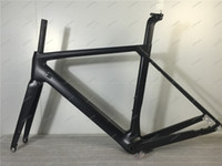 UD Finitura T800 Freno a disco HQR27 Bicicletta Frame + Fork + Sedile Post + Clamp + Headset + BB Adattatore XS / S / M / L / XL Disponibili