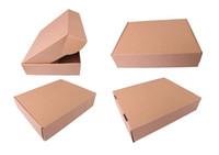 çanta hediye paketi kağıdı toptan satış-10 * 21.5 * 6 cm Kahve Fındık Gıda Depolama Ile Kahverengi Kraft Kağıt Paketi Kutusu Temizle Pencere DIY Parti Hediye Craft Paketi Çanta Kılıfı