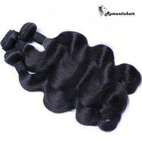 perulu dalga saç uzantıları toptan satış-Brezilyalı Vücut Dalga Saç Işlenmemiş Malezya Hint Perulu Kamboçyalı Vücut Dalga İnsan Saç Büyük Kalite Bakire Saç Uzantıları