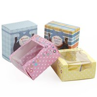 Wholesale shoe box with baby shoes gift box physical store decorated shoe box exquisite shoebox style no B17