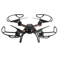 Wholesale King Helicopter - Mould King UFO 33041A RC Drones 2.4G 4CH 6 Axis Gyro Hover Quadcopter with Propeller Protector Light Remote Control Helicopter