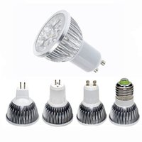 Wholesale E14 Led Bulb 4w - High power CREE Led Lamp 3W 4W 5W Dimmable GU10 MR16 E27 E14 GU5.3 B22 Led Light Spotlight led bulb downlight lamps