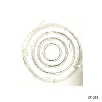 Wholesale Album Rings - Wholesale- The Circular Ring Transparent Clear Silicone Stamp seal for DIY Scrapbooking photo Album Decorative Clear Stamp Sheets.
