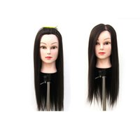 Coolhair4u Beauty Synthetic Hair Female Head Head Cosmetology Mannequin Head с зажимом, 22-дюймовый