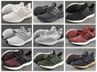 Wholesale Royal Blue Glitter Flats - Ultra Boost 3.0 Multicolor Triple White Black Primeknit Oreo CNY Green Men Women Running Shoes Original Ultra Boosts ultraboost Shoes Sport