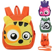 Wholesale Toddler Backpack Harness Leash - Cute Animal Shape Baby Toddler Safety Harness Leash Tether Anti-lost Children Modeling Strap Backpack School Bag