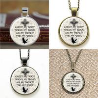 Wholesale pagan necklaces - 10pcs Pagan Elemental Chant Pendant Necklace keyring bookmark cufflink earring bracelet