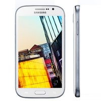 Wholesale Android 3g 5inch - Original Refurbished Samsung GALAXY Grand DUOS I9082 Cellphone WCDMA 3G 5Inch 1GB 8GB Dual Micro Unlock Mobile Phone