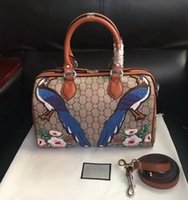 Wholesale Colourful Bags - New style high quality women brand fashion leather Embroidery Flowers Floral colourful handbag shoulder bag totes Cross Body 409527