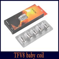 Wholesale Engine Mini - SMOK TFV8 Baby Coil Head Replacment T6 T8 X4 Q2 M2 Beast Coil Engine Core for H PRIV Mini 50w Kit DHL 0266110